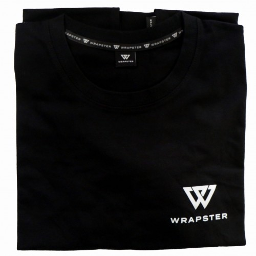 T-Shirt WRAPSTER black